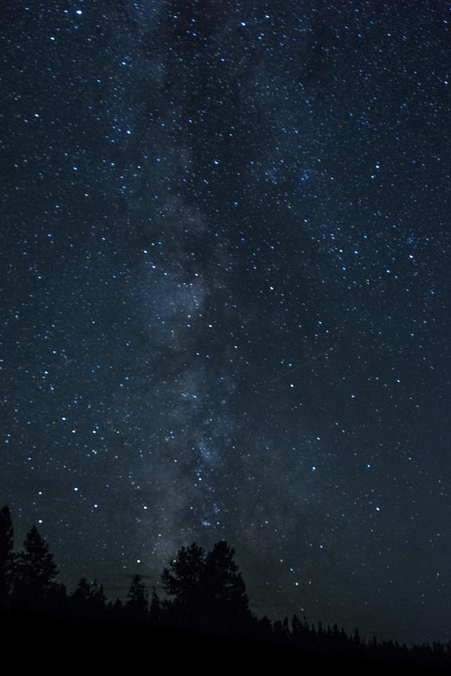 Milky Way - Yellowstone 2015