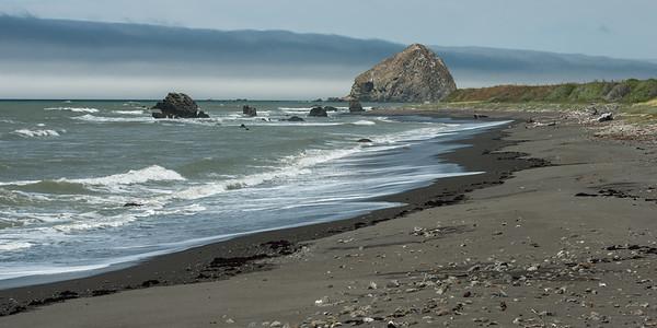 The Beach at Cape Mendocino