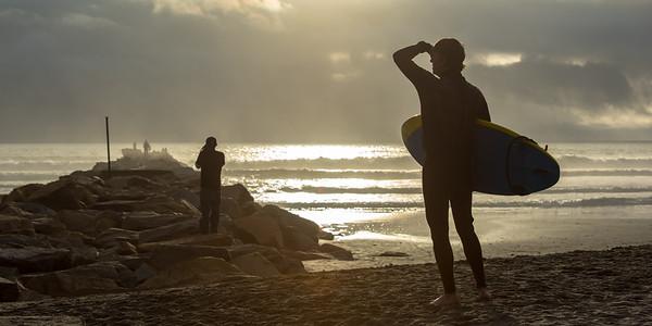 Surfer Siluette
