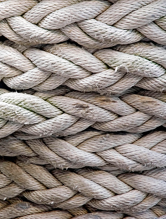 Strength  ropes,  USS Missouri battleship, Peral Harbor, Oahu, Hawaii