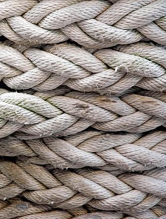 Strength  ropes,  USS Missouri battleship, Peral Harbor, Oahu, Hawaii