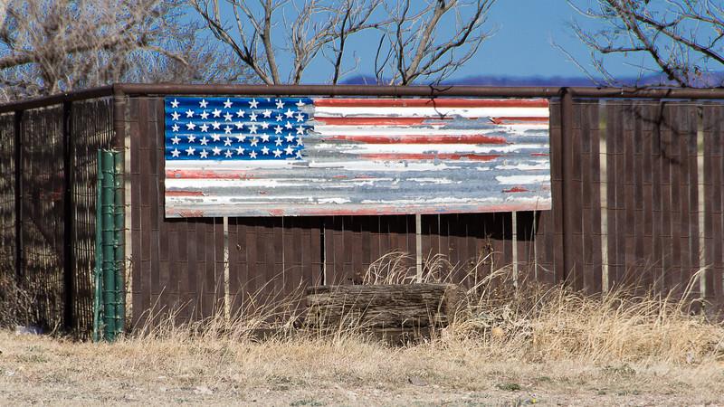 Fence Flag #1