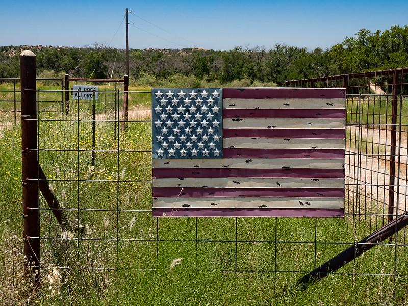 Fence Flag #2