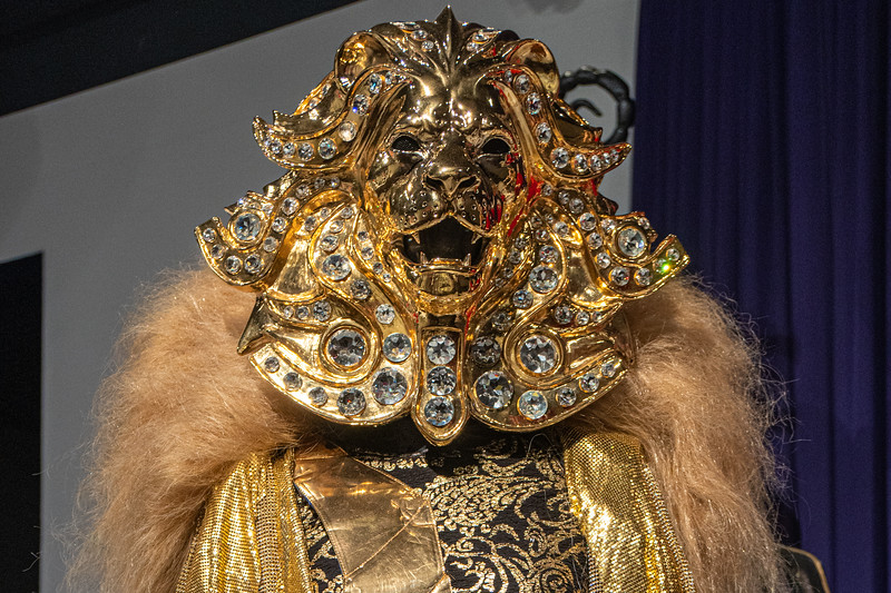 Detail from one of the costumes from The Masked Singer by Marina Toybina