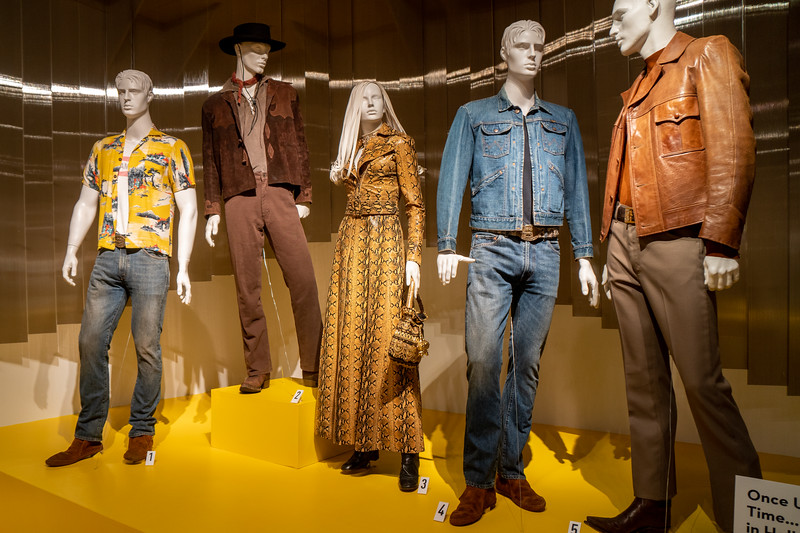 Costumes, designed by Arianne Phillips, for Once Upon a Time in Hollywood