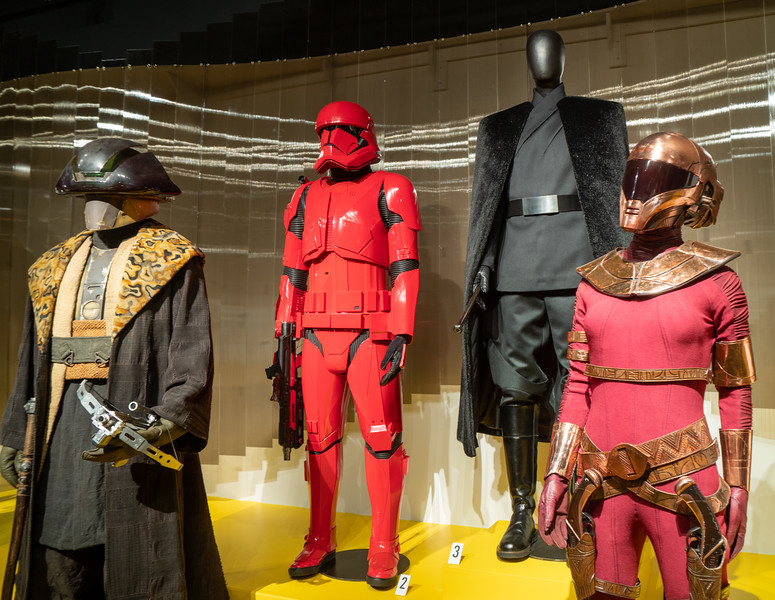 Star Wars: The Rise of Skywalker, costumes by Michael Kaplan