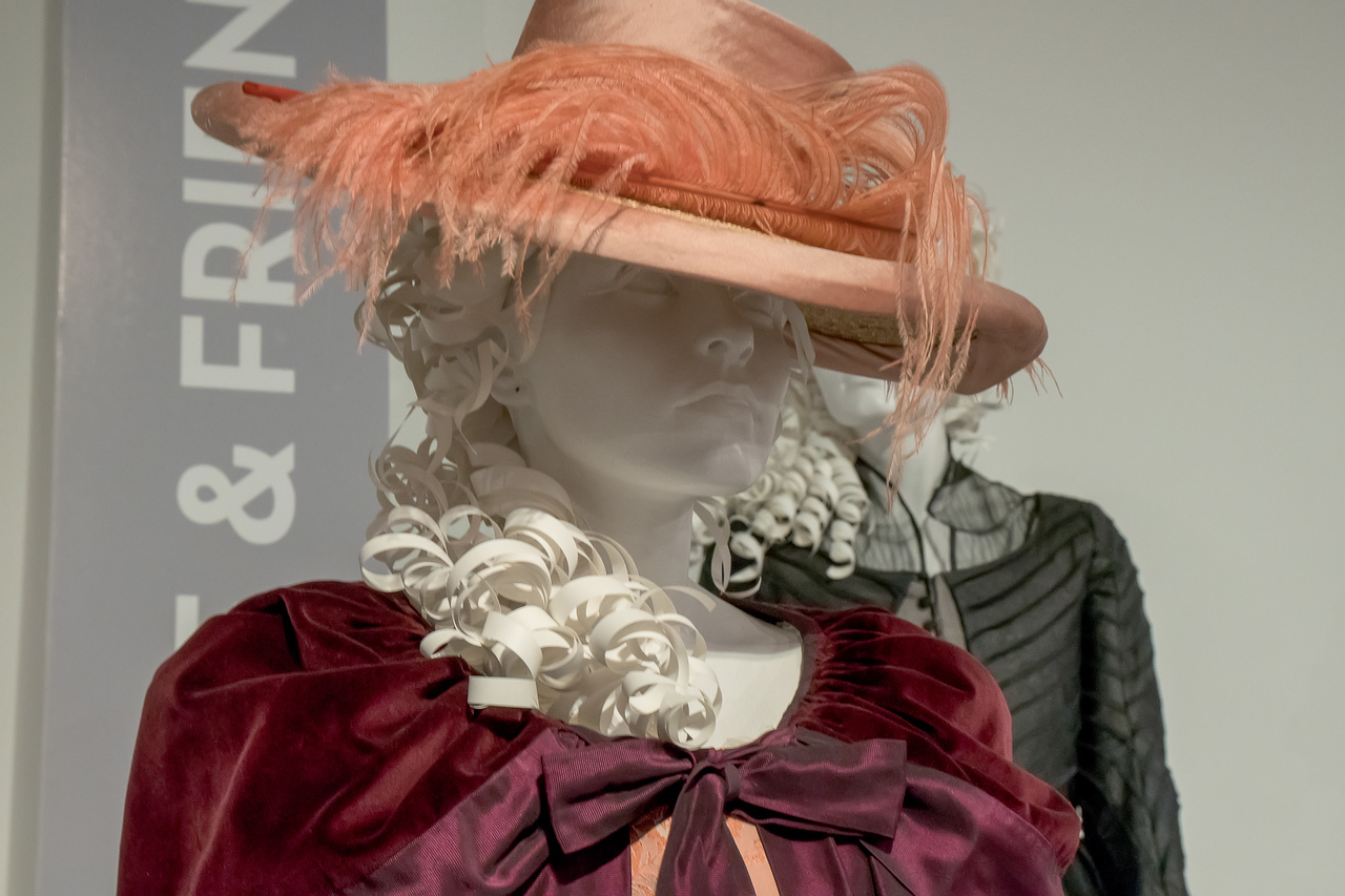 Hat designed by Eimer ni Mhaoldomhnaigh for Love and Friendship