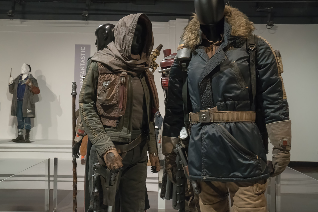 Costumes for Star Wars, Rogue One by David Crossman and Glyn Dillon