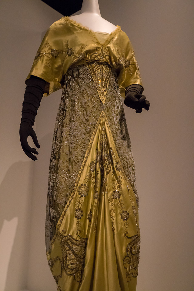 1912 Evening Ensemble by Gustave Beer at Acquiring Beauty