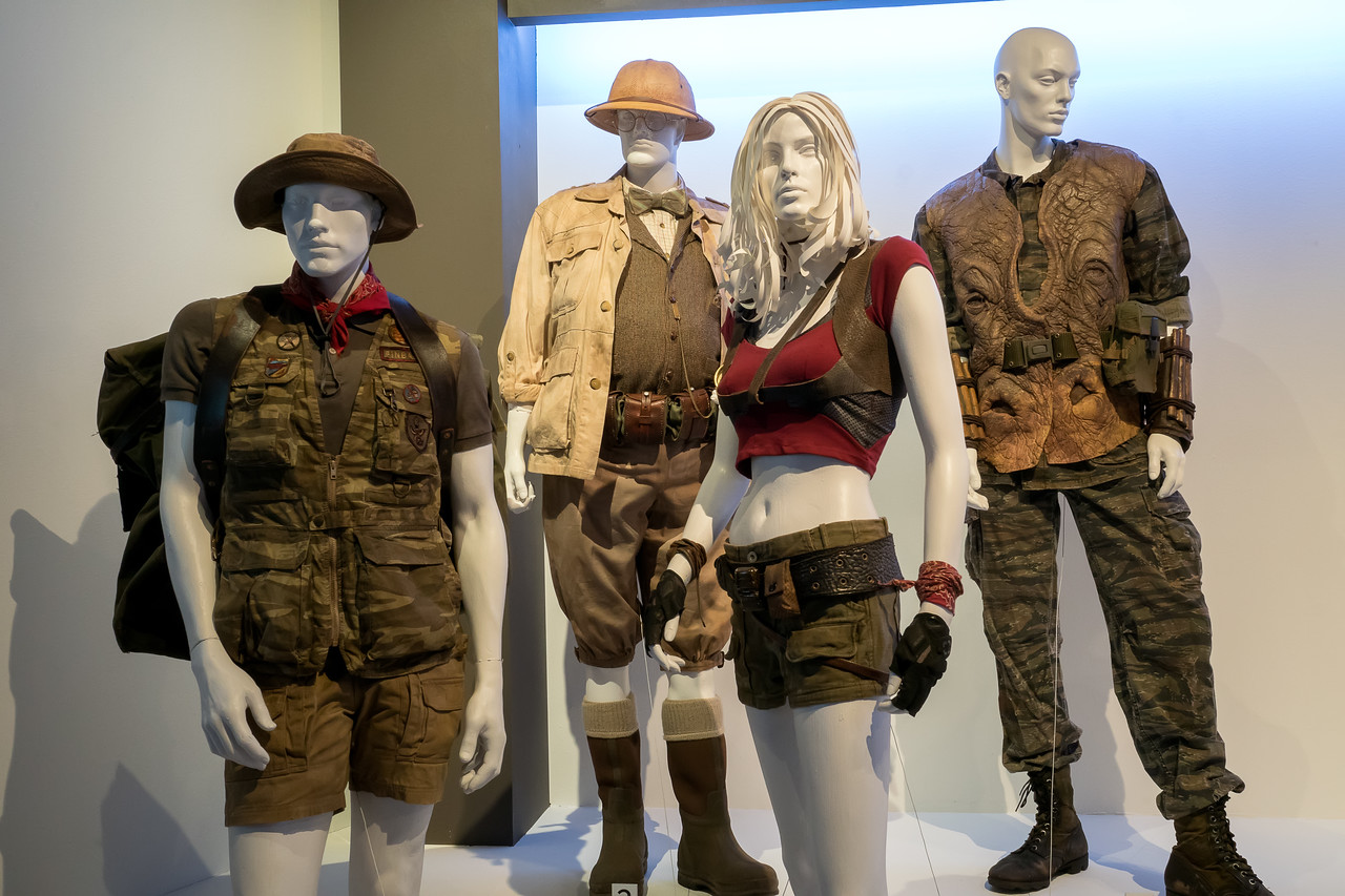Jumanji: Welcome to the Jungle, costumes designed by Laura Jean Shannon