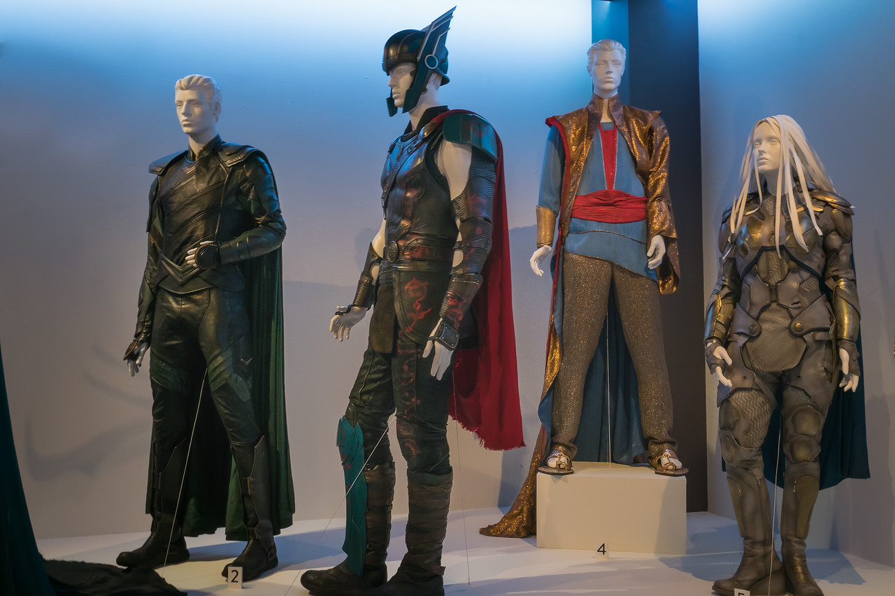 Thor: Ragnarok, costumes designed by Mayes C Rubeo