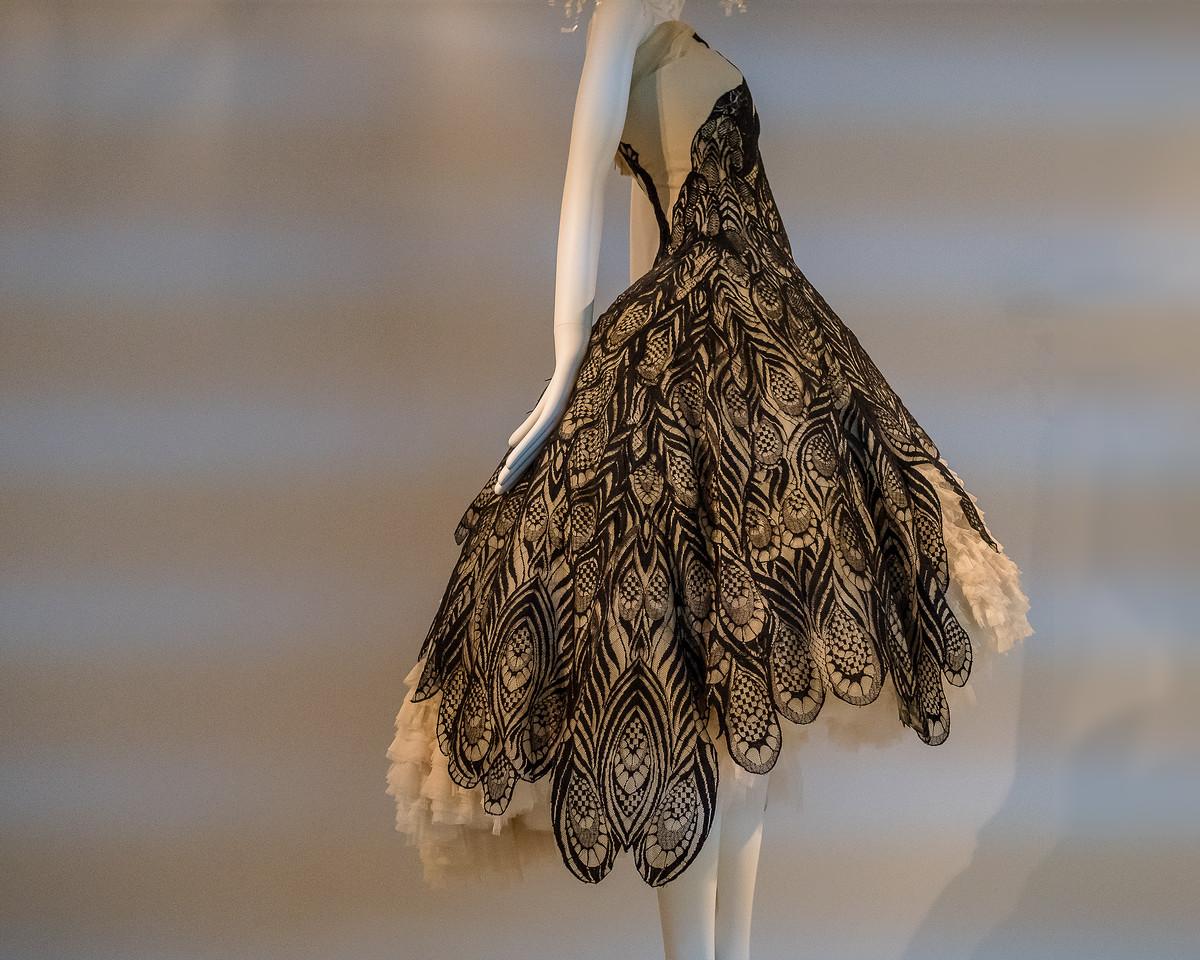 Peacock Dress by Alexander McQueen