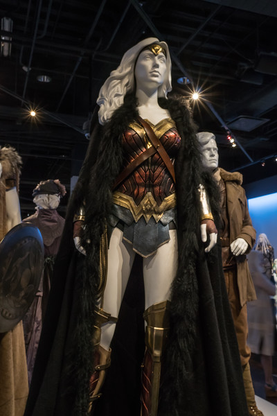 Wonder Woman, costumes designed by Lindy Hemming