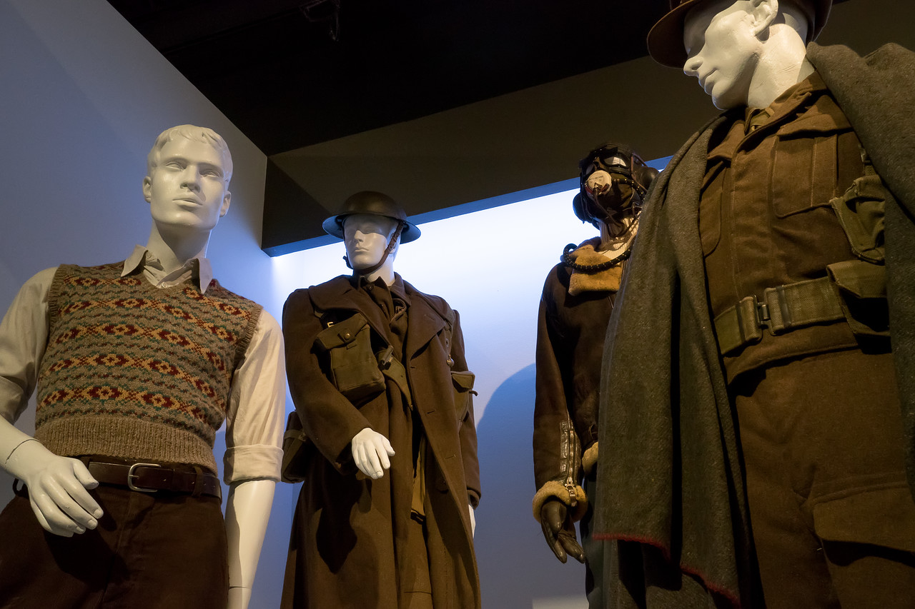 Dunkirk, costumes by Jeffrey Kurland