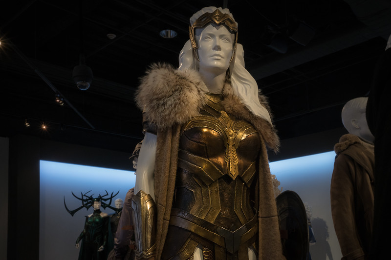 Hippolyta from Wonder Woman, designed by Lindy Hemming