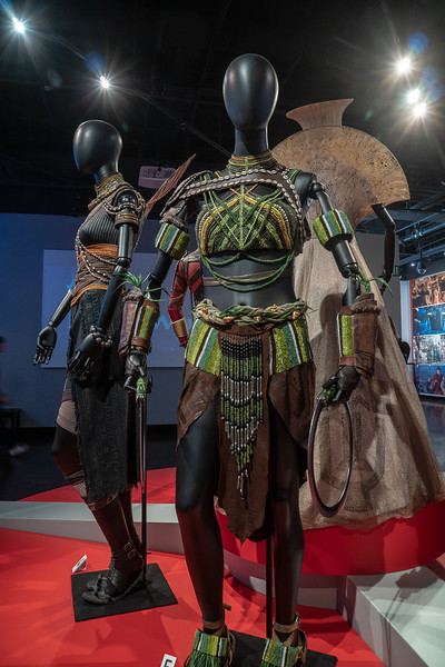 Nakia, coronation outfit, designed by Ruth E. Carter