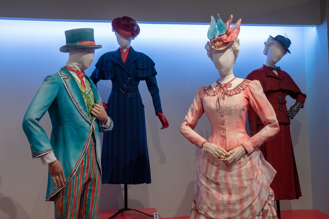 Sandy Powell designed the costumes for Mary Poppins Returns