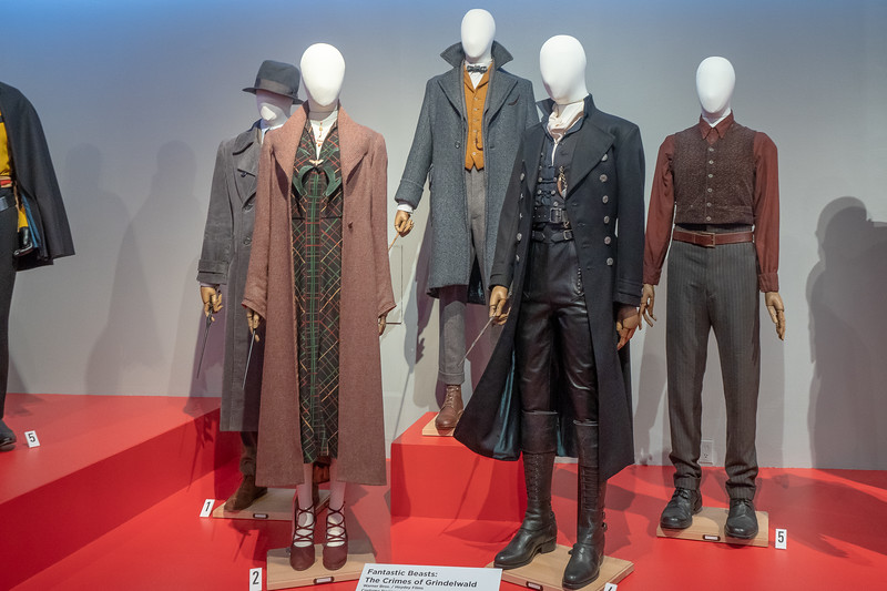 Costumes from Fantastic Beasts: The Crimes of Grindelwald.  Design by Colleen Atwood