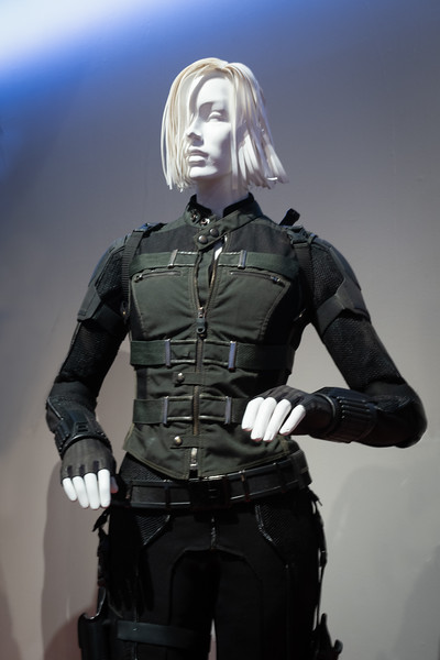 Black Widow from Avengers: Infinity War.  Costume designer Judianna Makovsky