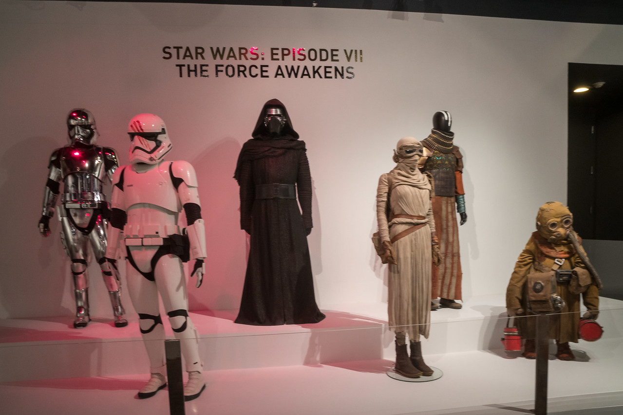 Star Wars costumes from The Force Awakens