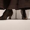 Shoes worn by Helena Bonham Carter in Suffragette