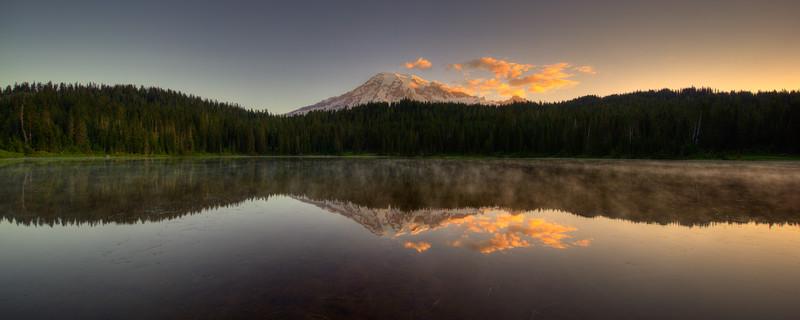Mirror Lake mount rainier