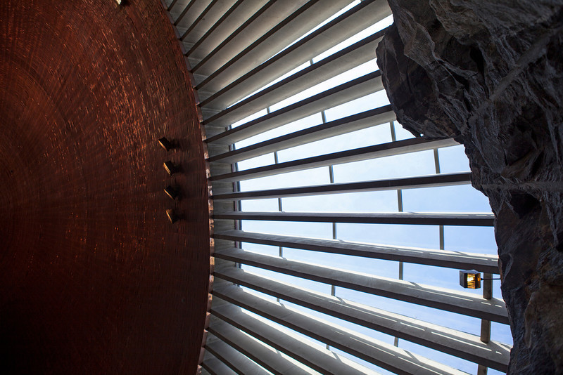 HELSINKI. HELSINGFORS. TEMPPELIAUKIO CHURCH [CHURCH IN THE ROCK].
