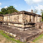 POLONNARUWA. QUADRANGLE. ATADAGE. AN UNESCO WORLD HERITAGE SITE. SRI LANKA.