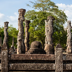 POLONNARUWA. QUADRANGLE. AN UNESCO WORLD HERITAGE SITE. SRI LANKA.