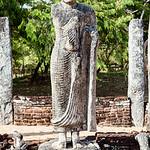 POLONNARUWA. QUADRANGLE. HATADAGE [TOOTH RELIC CHAMBER]. AN UNESCO WORLD HERITAGE SITE. SRI LANKA.