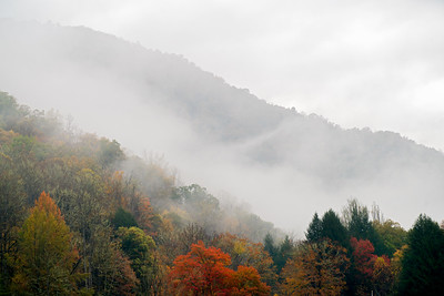 Autumn Amongst The Clouds