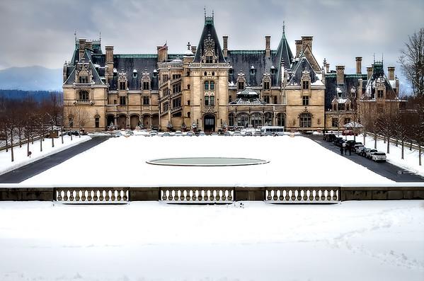 The Biltmore Estate Winter - NPOT FOR SALE