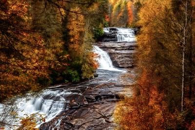 Triple Falls Autumn 2013