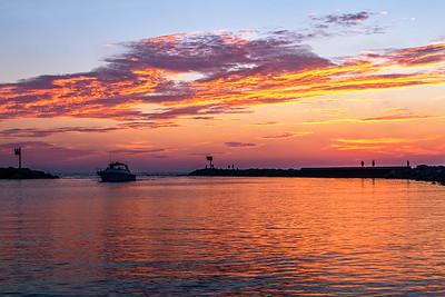Union Pier Sunset