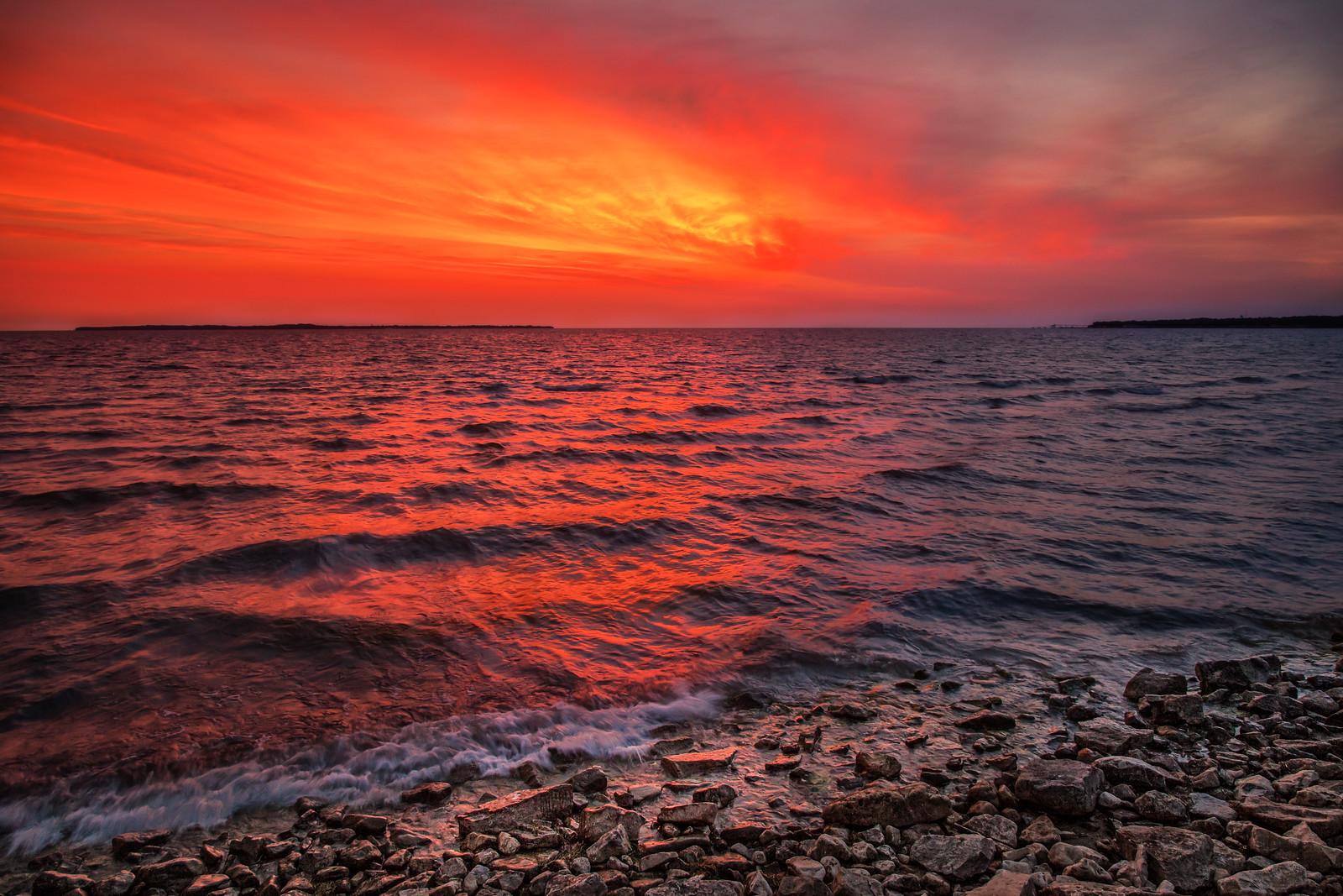 Dawn On Lake Erie