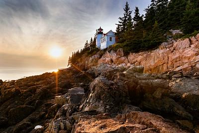 Bass Harbor Lighthouse Sunset