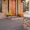 Slate front entry