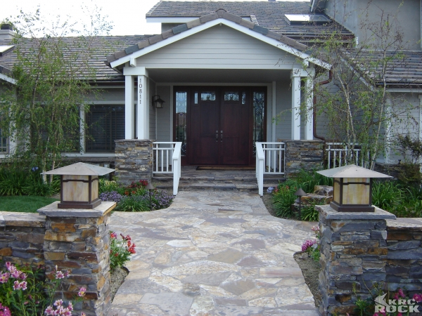Three Rivers Flagstone entry
