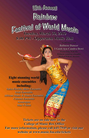 FSU Rainbow Festival of World Music