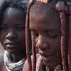 Himba girls, Namibia.