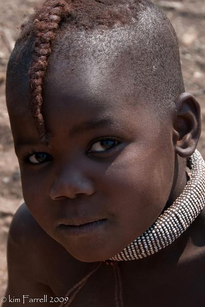 Himba girl (child).