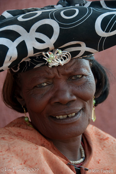 Herera woman, Namibia.