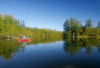Canoeing the BWCAW 003