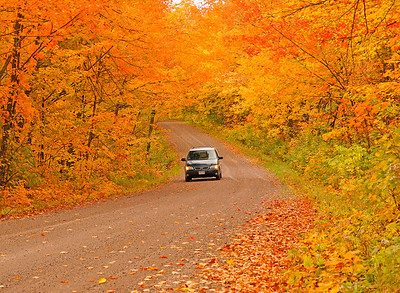 Sawtooth Mountains Fall Drives