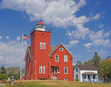The Red Brick Two Harbors Light Station and Bed and Breakfast