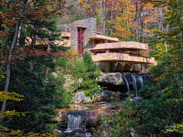 Fallingwater in the Fall