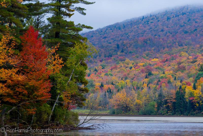 Silver Lake Vermont ....in the rain.