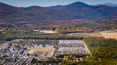 Fryeburg Fairgrounds and the White Mountains