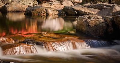 Fall Colors at Jackson Falls