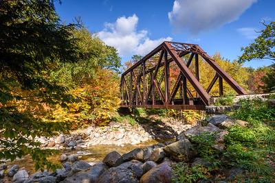 Bridge Over Sawyer's River, NH